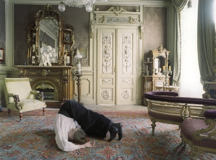 Tableaux I from the series Studies of Bourgeoisie, 2004-2006, c-print, 98x85 cm.