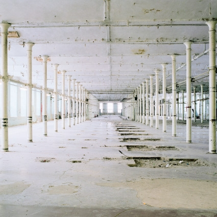 Kreenholm#10 from the series Fall of Manufacture, 2008-2012, pigment print 75x75 cm.