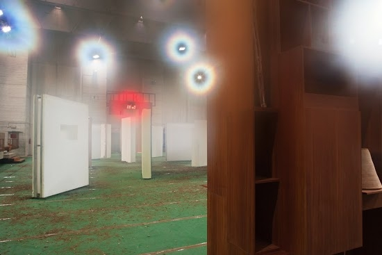 oO - The Lithuanian-Cypriot Pavilion, the main court, Venice Biennial, 2013 (photograph by Robertas Narkus)