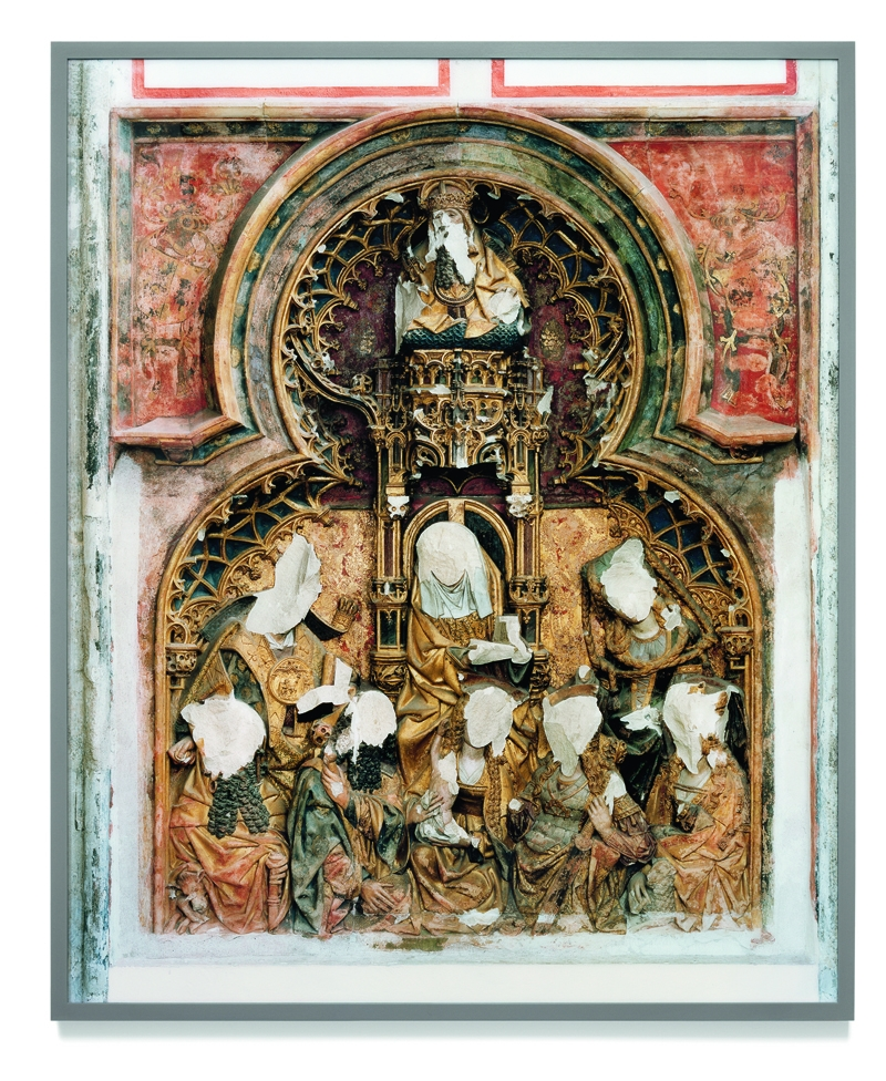 Gert Jan Kocken, Anna retable, Utrecht. Defacement 7 March 1580, 2004, C print, 177 x 225 cm, courtesy of the artist