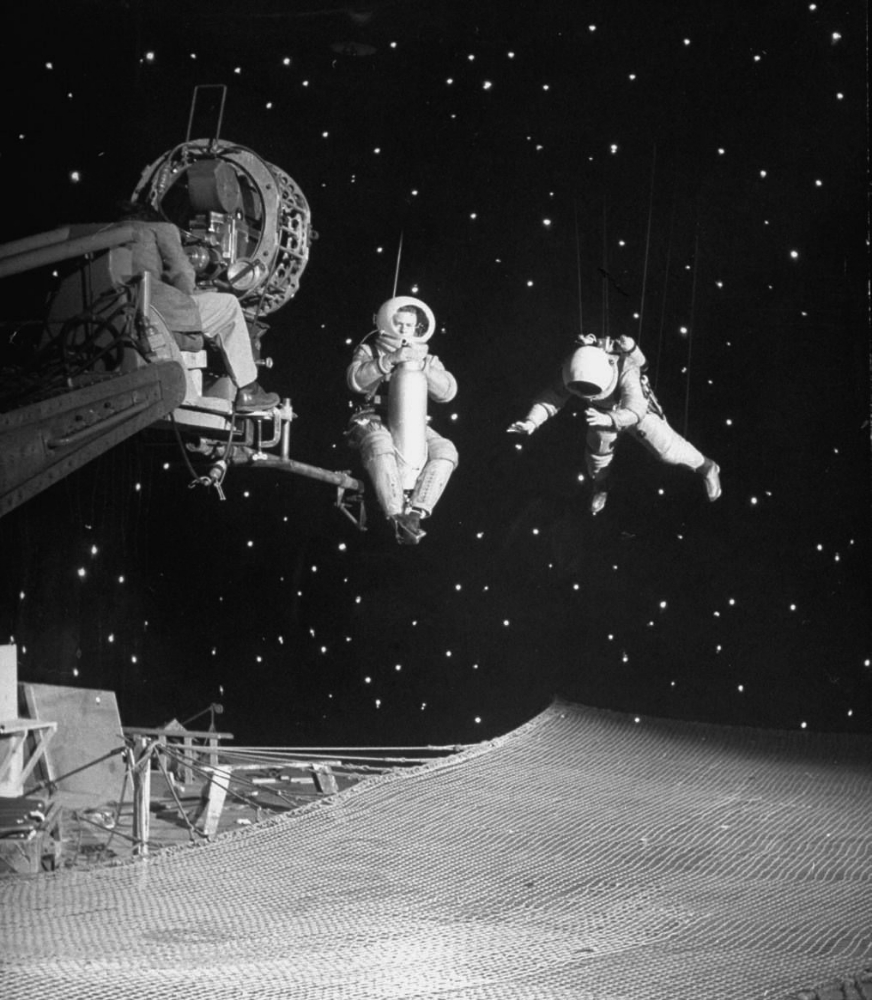 Behind the scenes of the movie, Destination Moon, USA 1950, 92 min, George Pal Productions, directed by Irving Pichel. © Allan Grant / Time Life Pictures / George Pal Productions