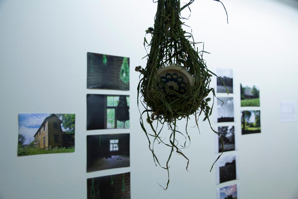 Evelyn Müürsepp-Grzinich, untitled installation, mixed media, 2014