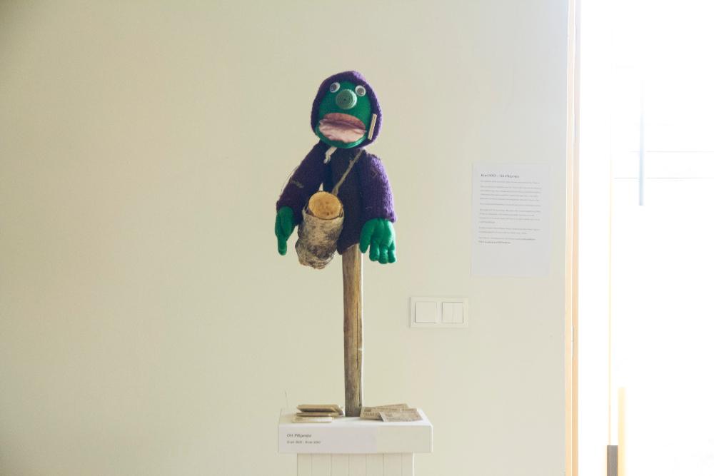 Ott Pilipenko, Kratt3000, mixed media installation, 2014