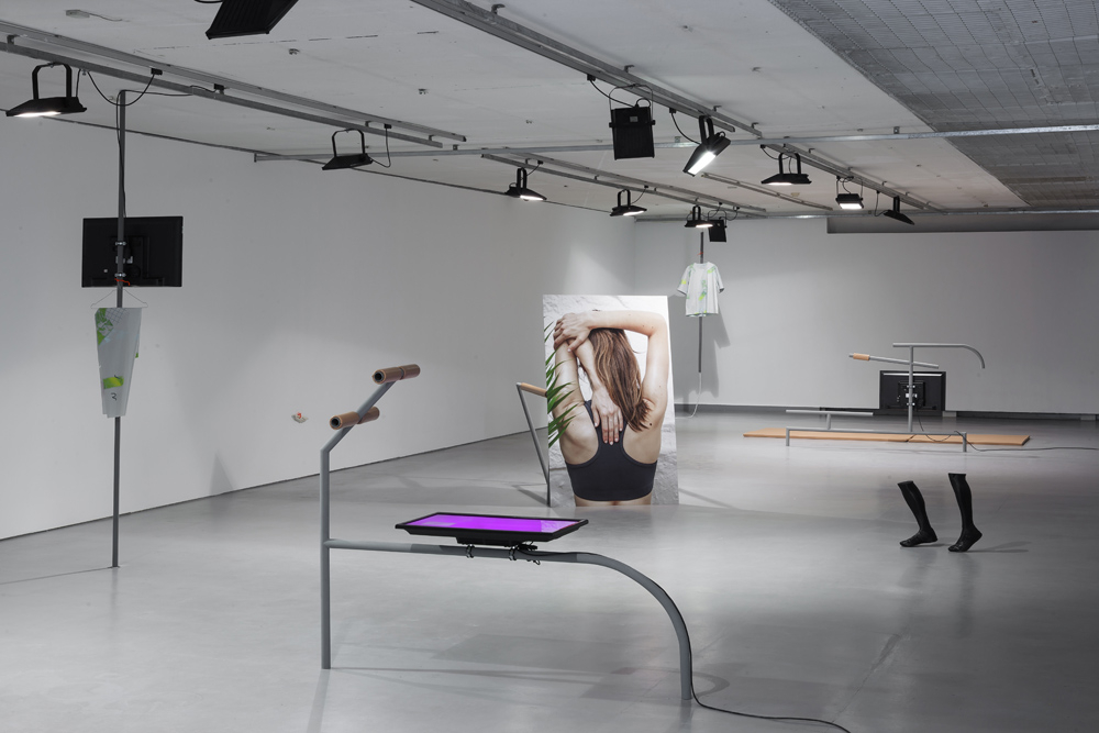 The Metaphysics of the Runner, 2014. Exhibition view at the Contemporary Art Centre (CAC), Vilnius. Photo: Ugnius Gelguda