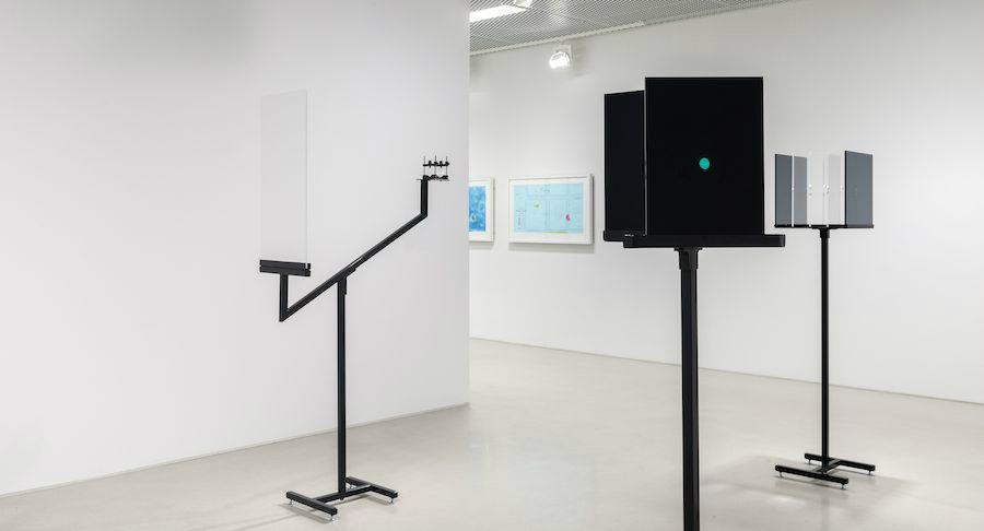 Patrik Aarnivaara, Impasse Scenario, 2014; Ocular Routine, 2014; Schizoid Picturesque, 2014;  Promenade Through Parc de la Vilette, 2013