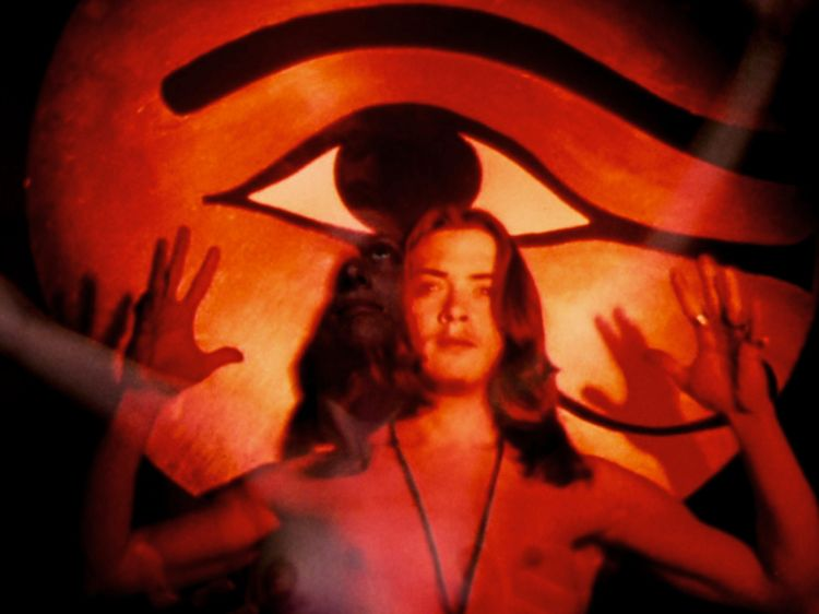 Film still from Invocation of My Demon Brother, Kenneth Anger, 1969