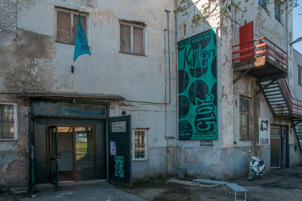 Contemporary Art Museum of Estonia, Köler Prize exhibition venue, 2015
